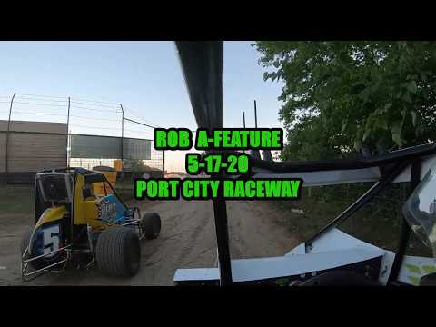 2nd Night of Spring Fling Started: 4th Finished: 4th out of 10. - dirt track racing video image