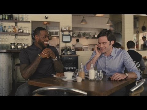 Trainwreck - LeBron James does more than dunk in Trainwreck (Universal Pictures)