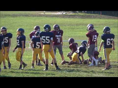 9/6/2016 Kirtland Middle School Football vs Rocky River Middle School
