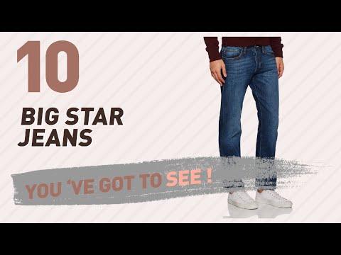 Big Star Jeans For Men // UK New & Popular 2017