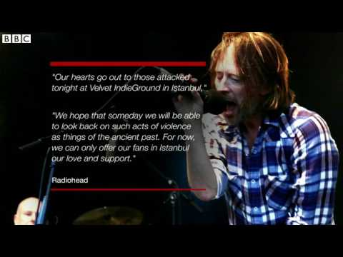 Turkish Radiohead Fans Attacked In Istanbul   BBC News