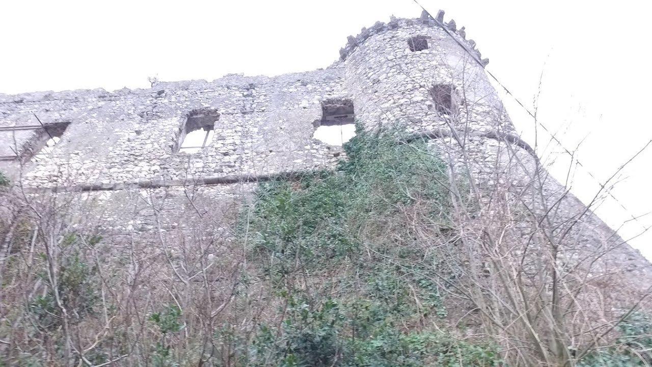 Ancient Exploring: Part 1 Medieval Castle of Vairano Patenora, Italy