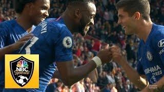 Michy Batshuayi increases Chelsea39s lead to three against Southampton  Premier League  NBC Sports