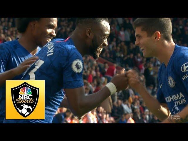 Michy Batshuayi increases Chelsea's lead to three against Southampton | Premier League | NBC Sports