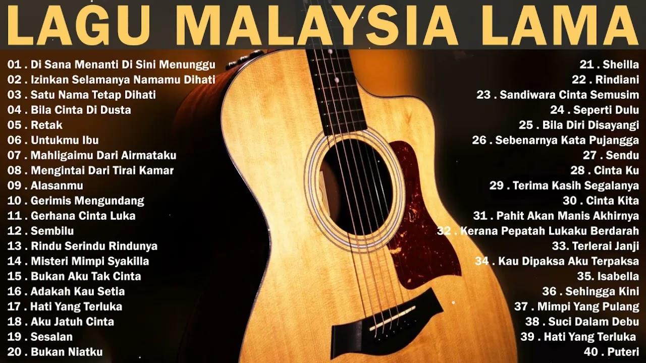 Download Koleksi Lagu Malaysia LAWAS Terpopuler & Terbaik Sepanjang Masa - Lagu Malaysia Lama