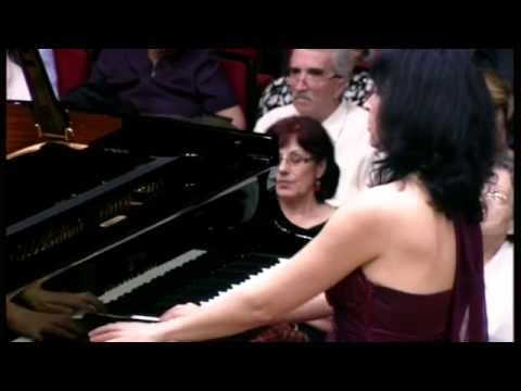 Luiza Borac plays Franz Liszt Piano Concerto No. 1