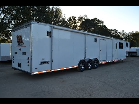 8.5x48 Haulmark Living Quarters Trailer
