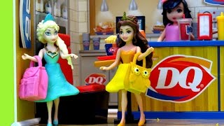 miWorld DQ Dairy Queen Mini Playset with Claire