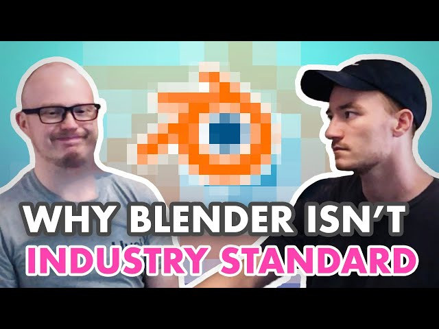 Why Blender Isn't 3D Industry Standard