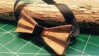 DIY/  wooden bow-tie
