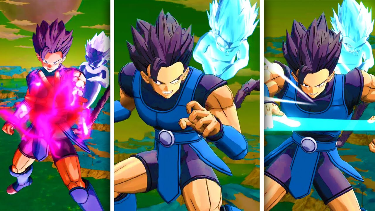 New Gotenks Ghost Dragon Ball Legends Accessory For Shallot Legends Road Youtube