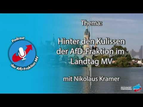 Podcast der AfD-Fraktion: Hinter den Kulissen der AfD-Fraktion im Landtag MV