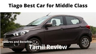 Tata Tiago XZ Petrol Car Tamil Review 2017 Nov Model. Price on road Price is Rs.6,00,000/- (Approx)