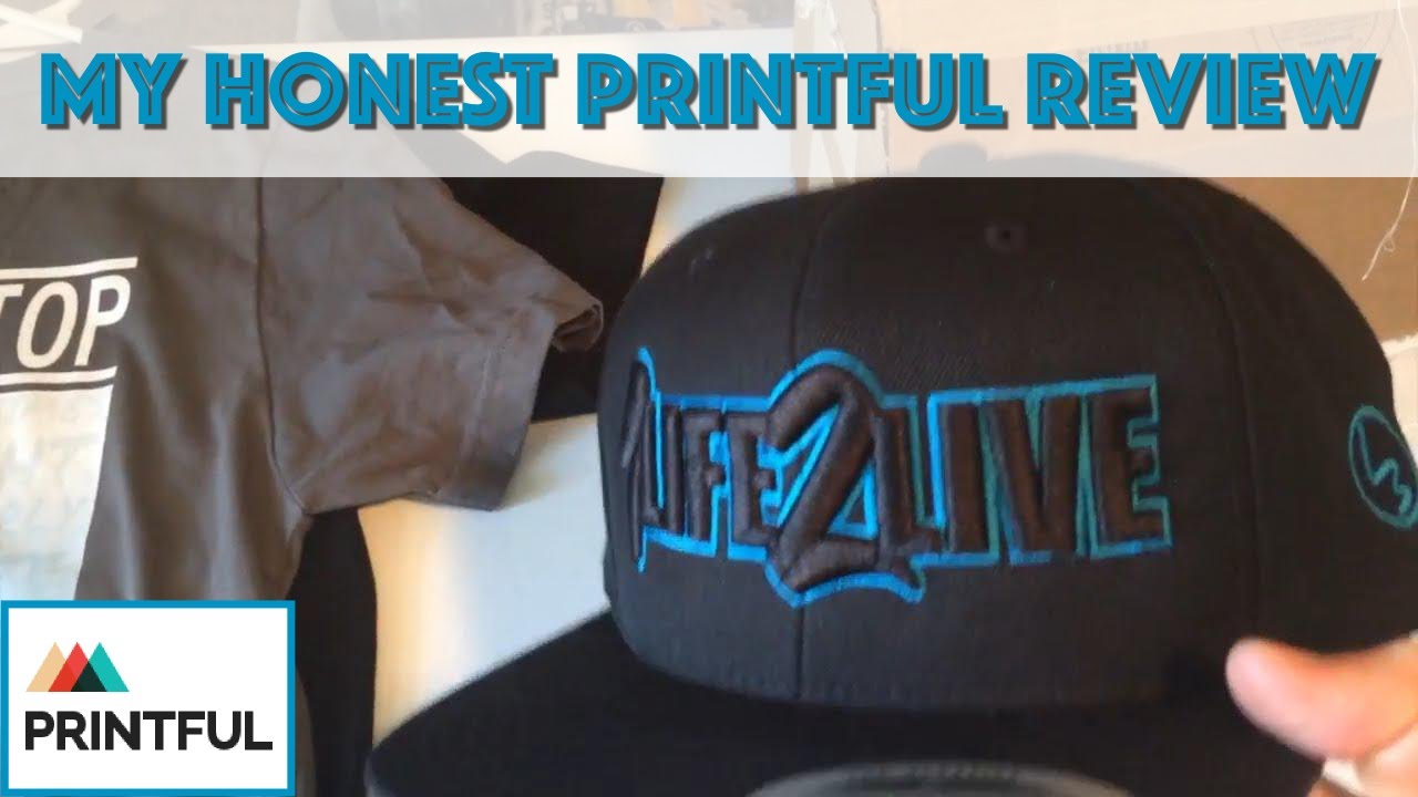 My Printful Review (Samples + Pros & Cons)