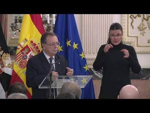 Vivas apela a la unidad de España y a la solidaridad interterritorial en el acto institucional de la Constitución