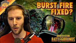 Is M16 Burst Fire Fixed? ft. Boom - chocoTaco PUBG Duos Gameplay