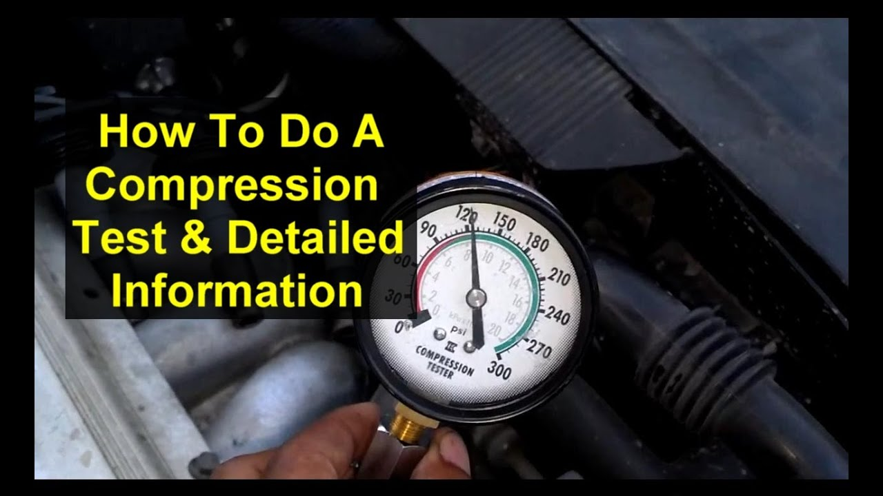 How To Do A Compression Test On A Car Motor Volvo 850