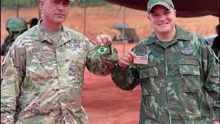 Brasil realiza simulacro de guerra, supervisado por EEUU, en frontera con Venezuela