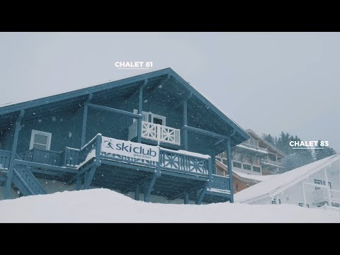 Discover the Freshtracks Chalets in Flaine