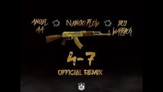 47 remix anuel aa ft engo flow bad bunny boy warrior