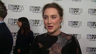EVENT CAPSULE CHYRON - 'Brooklyn' New York Film Festival Premiere Presented By Fox Searchlight And N