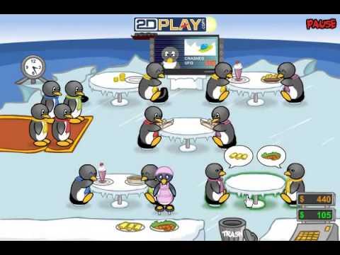 Penguin Diner Last Level / Ending
