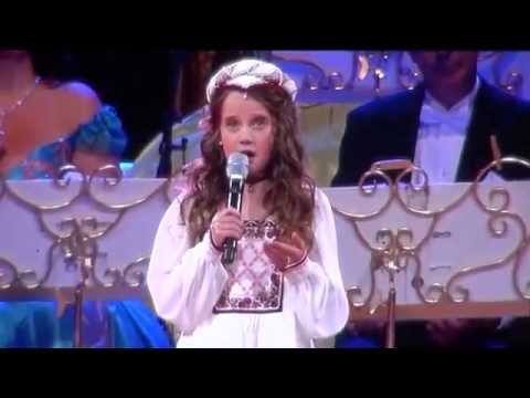 Amira Willighagen - O Mio Babbino Caro - Andre Rieu - Maastricht - July 2014