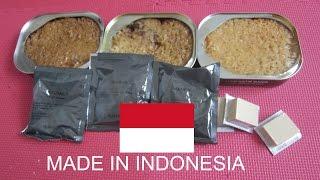 Nyobain Makanan TNI di Medan Perang!!! (MRE INDONESIA)