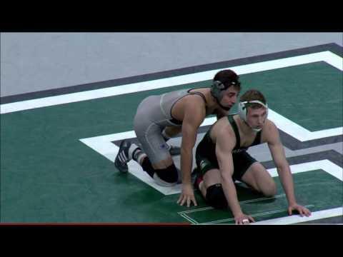 eastern michigan vs michigan state 2016/17 wrestling dual highlights