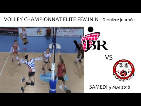 2018 05 04 Rencontres Sportives Volley Championnat Elite Féminin   VBR vs TOULON
