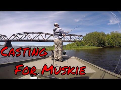 Muskie Fishing Saint John River New Brunswick Canada 2015