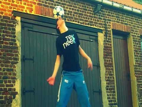 Freestyle Voetbal Bart