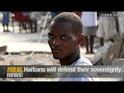 Haitians will defend their sovereignty