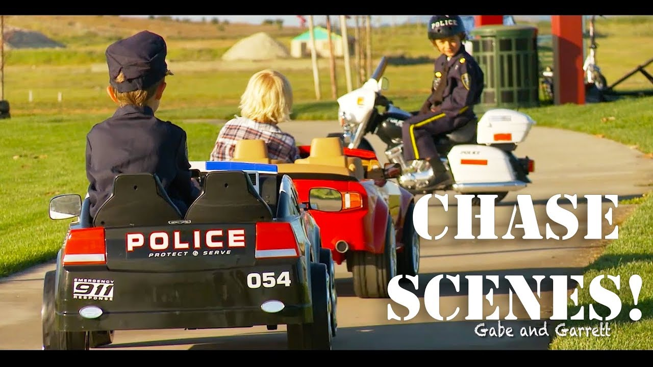 Sidewalk Cops Action Chase Scenes Compilation!