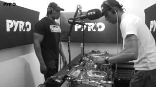 Cover images DJ Brockie & MC Det Part 2 - PyroRadio - (15/05/2017)