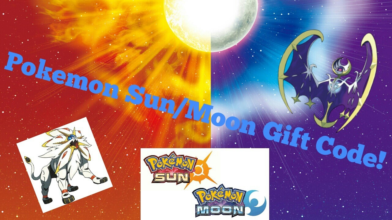 Pokemon Sun/Moon mystery gift code! FREE STUFF! - YouTube