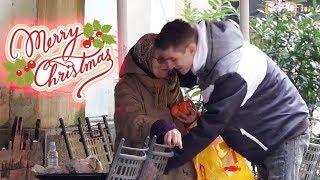 Pripremite se na suze: Uljepšao Božić teško siromašnima (2.dio) | Magic Leon
