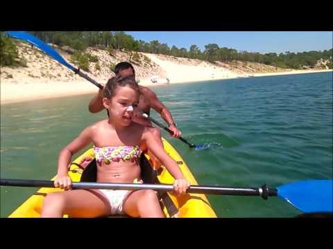 Volta de Kayak com a macaca Lagoa Albufeira