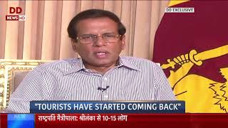 Exclusive interview with President of Sri Lanka Maithripala Si…