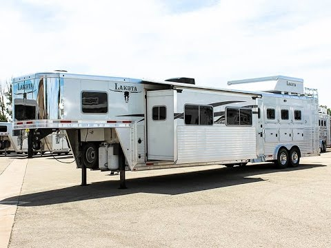 2013 Lakota Bighorn 4 Horse Living Quarters Trailer Transwest