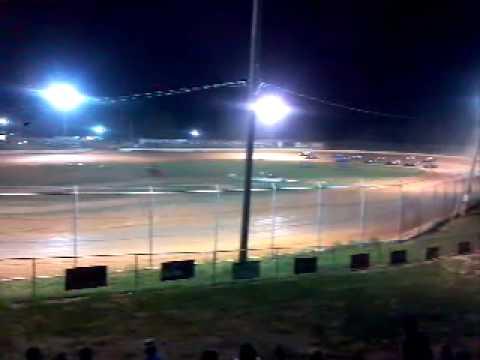 CT 525 Logan Martin restart at West Plains Motor Speedway