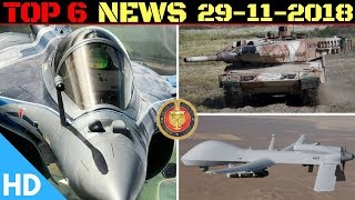 Indian Defence Updates : Armata for Army,100 Predator Deal,Indra 2018,India South Korea Collab