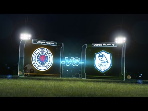 Youdan Trophy - Rangers vs Sheffield Wednesday (Full match) - Day One