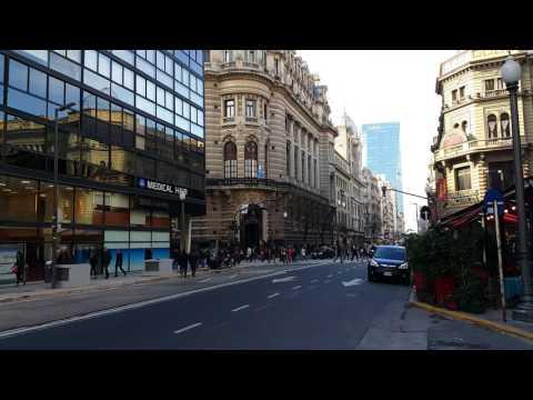 №3. Buenos Aires in 1 minute. Argentina. (4K Ultra HD) 1 минута в Буэнос-Айресе. Аргентина.
