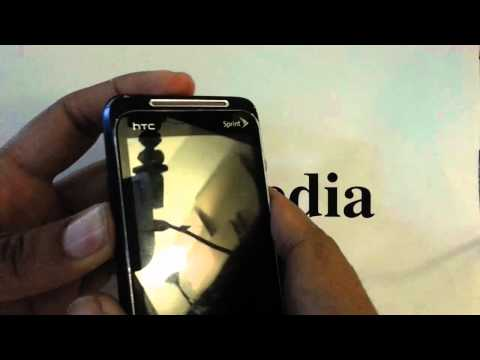 HTC Evo Shift Sprint: Hard Reset Factory Restore Password Removal Tutorial
