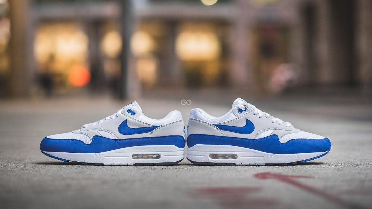 Nike Air Max 1 OG Anniversary Game Royal (Restock