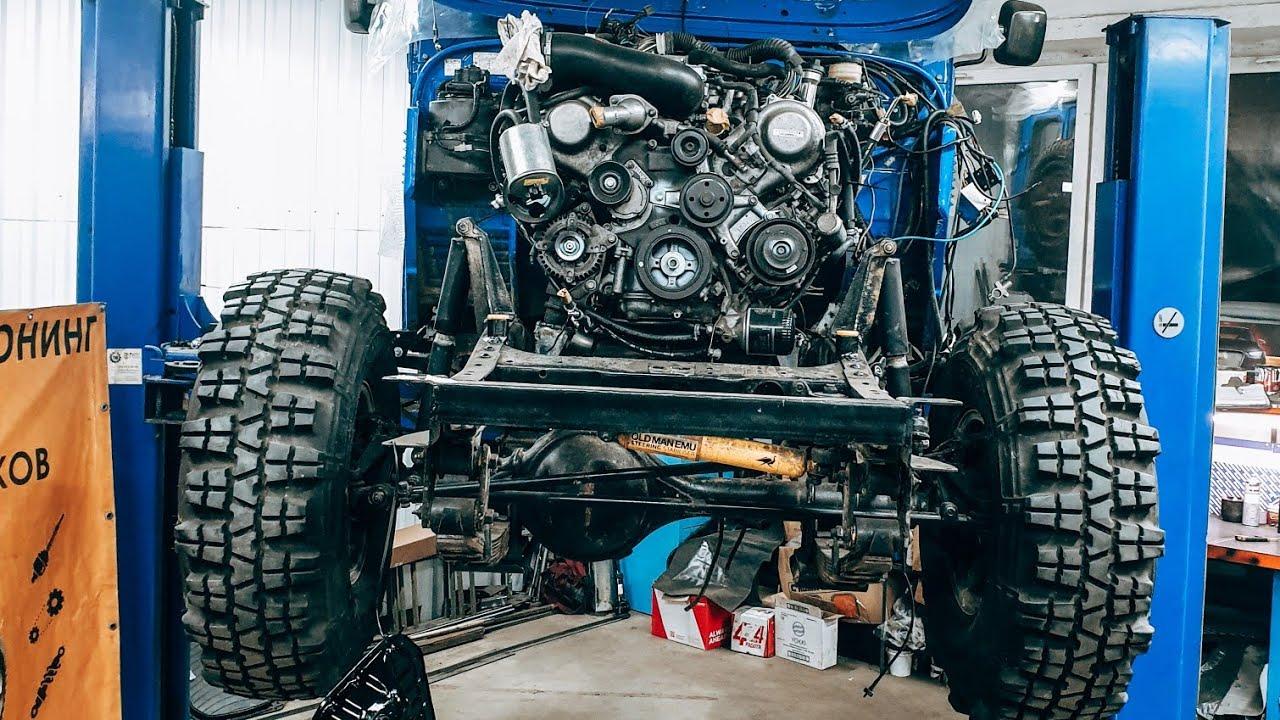 Land Cruiser на V8 300 сил почти готов