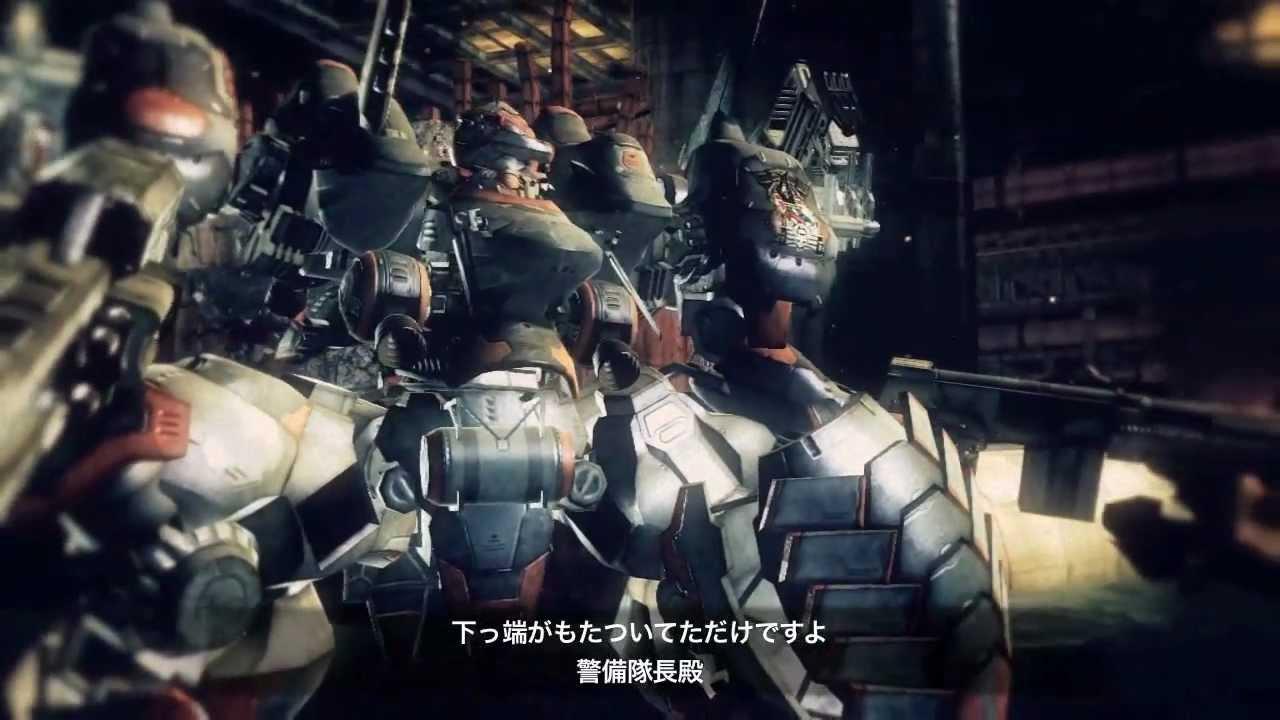 Armored Core V プロモーション映像 第5弾 本告編 Youtube