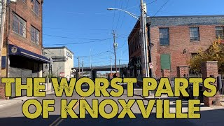 I drove through the worst parts of Knoxville, Tennessee. This is what I saw.