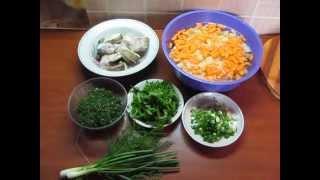 Уха или рыбный суп из щуки